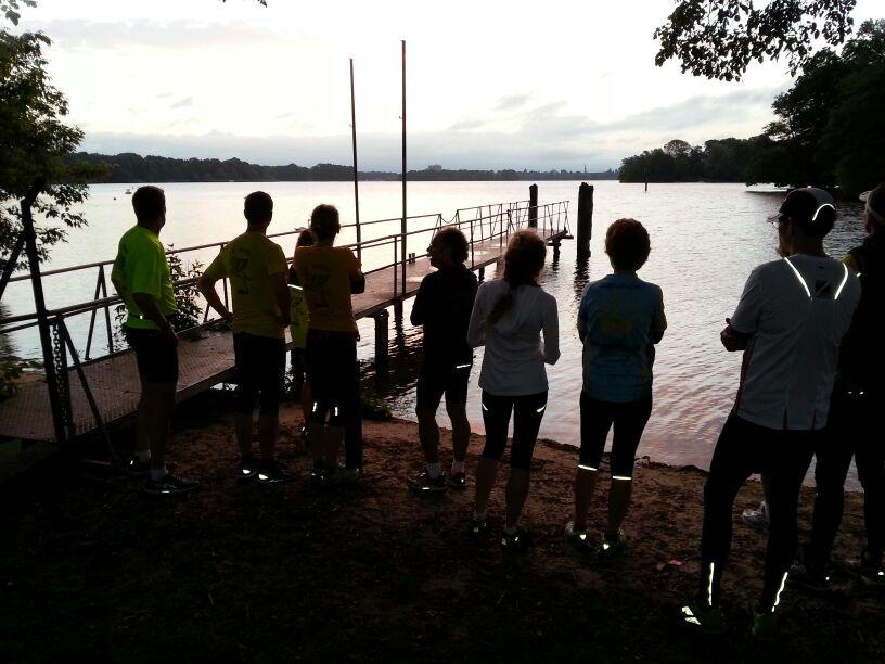 Lauf in den Sonnenaufgang – 22. Juni 2014 – LG Pegasos Berlin